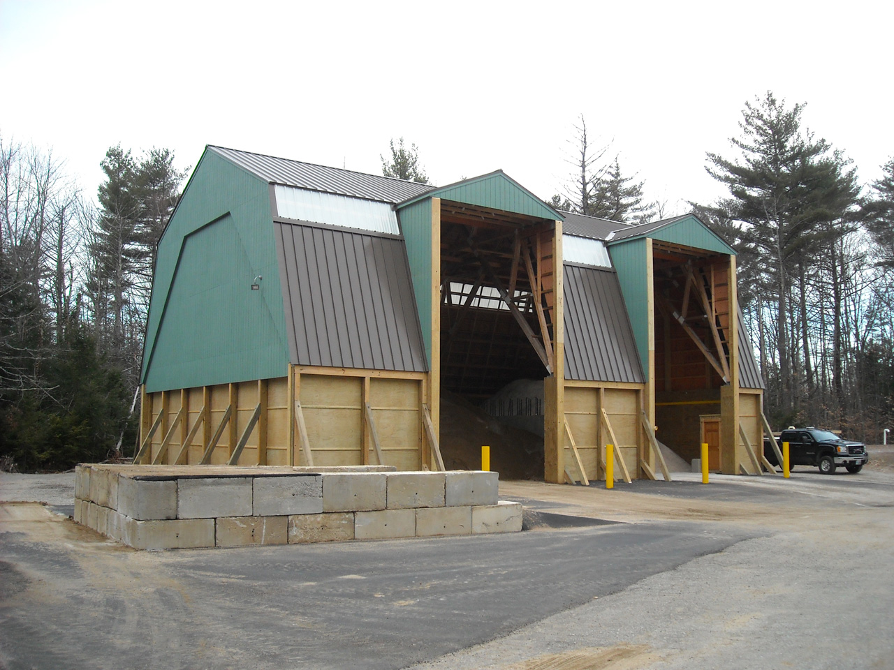 Town of Center Harbor Salt Storage Building