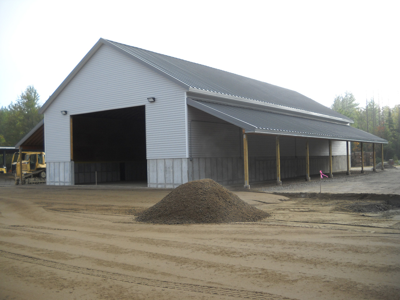 NHDOT Salt Storage Building